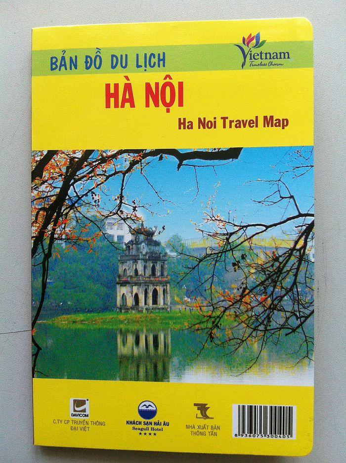 Thiết kế bản đồ du lịch Hà Nội