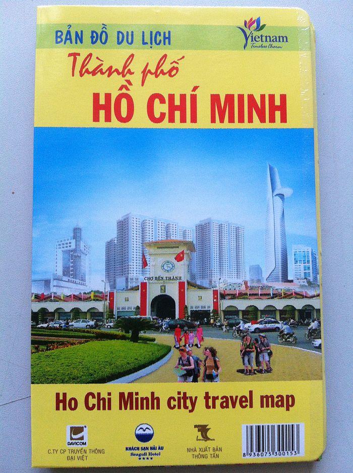 Thiết kế bản đồ du lịch thành phố Hồ Chí Minh