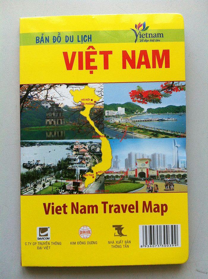 Thiết kế bản đồ du lịch Việt Nam