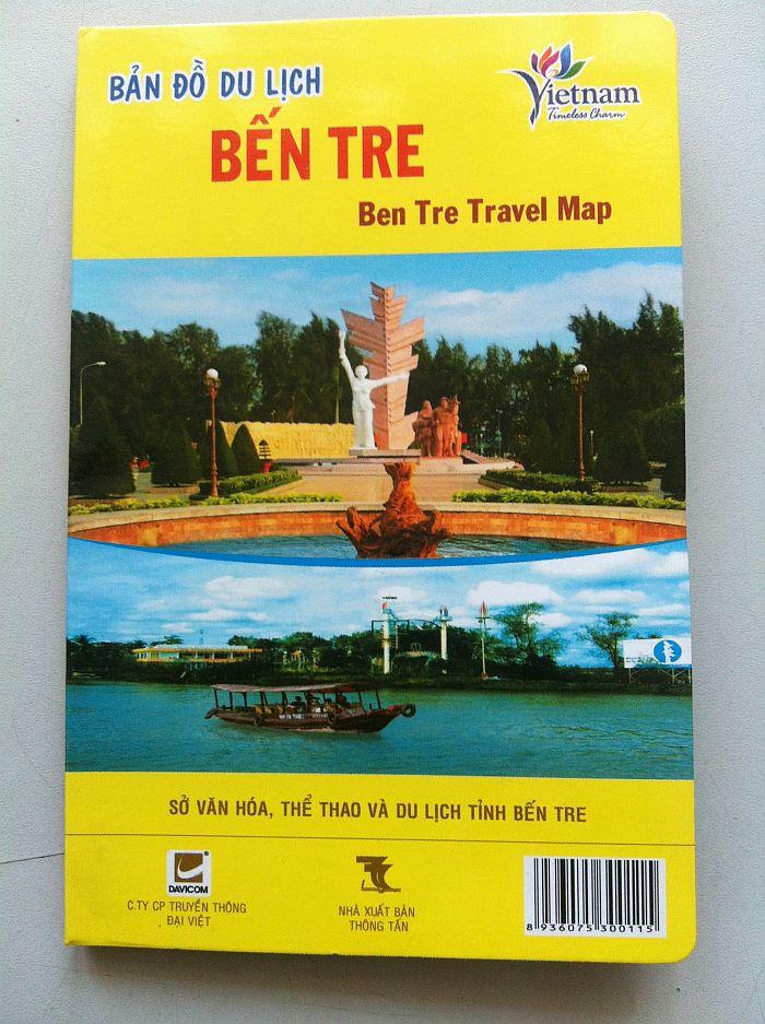 Thiết kế bản đồ du lịch Bến Tre