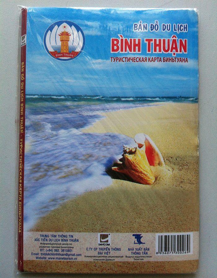 Thiết kế bản đồ du lịch Bình Thuận