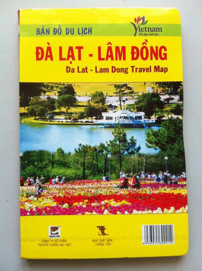 Thiết kế bản đồ du lịch Đà Lạt - Lâm Đồng