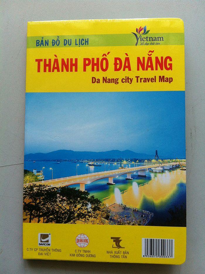 Thiết kế bản đồ du lịch TP Đà Nẵng