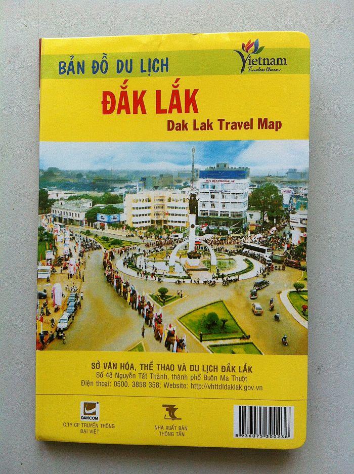Thiết kế bản đồ du lịch Dak Lak