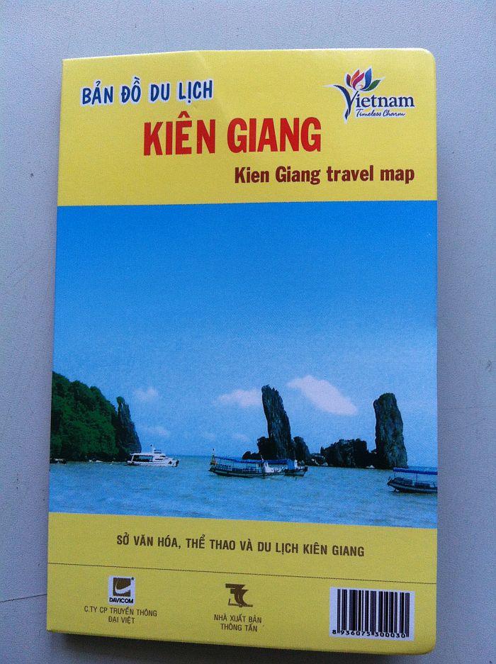 Thiết kế bản đồ du lịch Kiên Giang