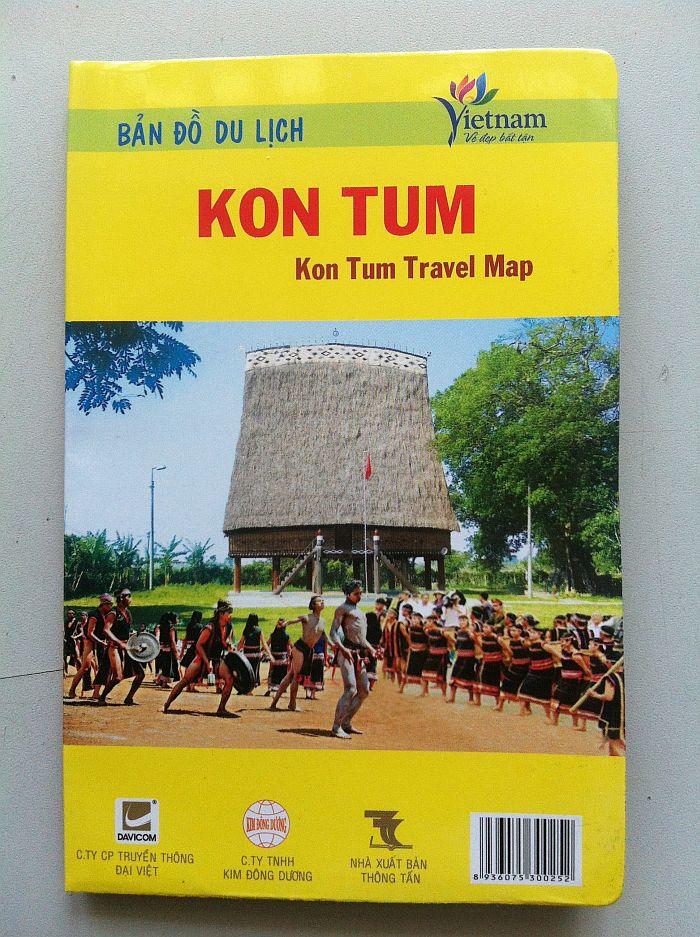 Thiết kế bản đồ du lịch Kon Tum