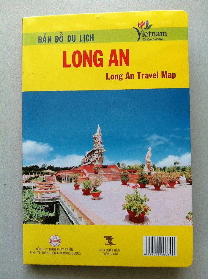 Thiết kế bản đồ du lịch Long An