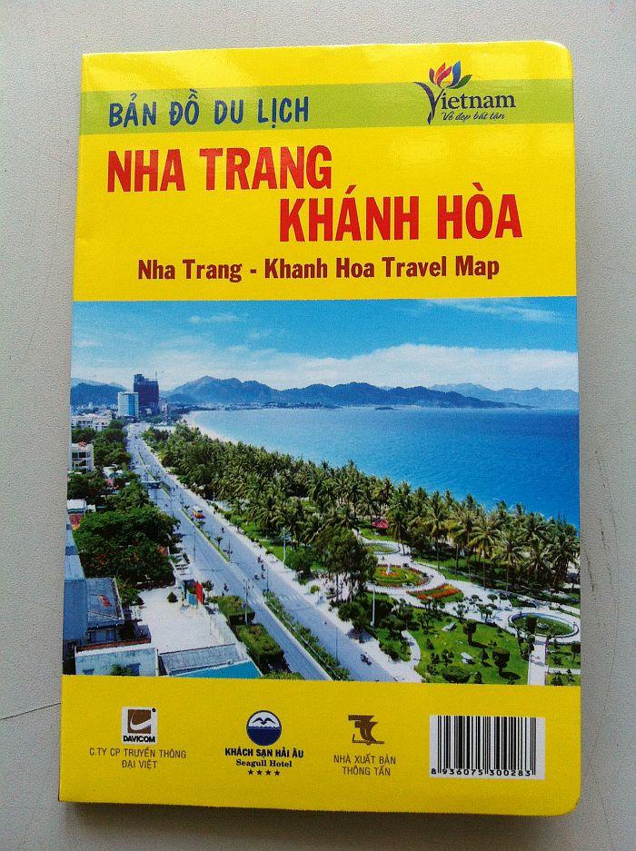Thiết kế bản đồ du lịch Nha Trang - Khánh Hòa