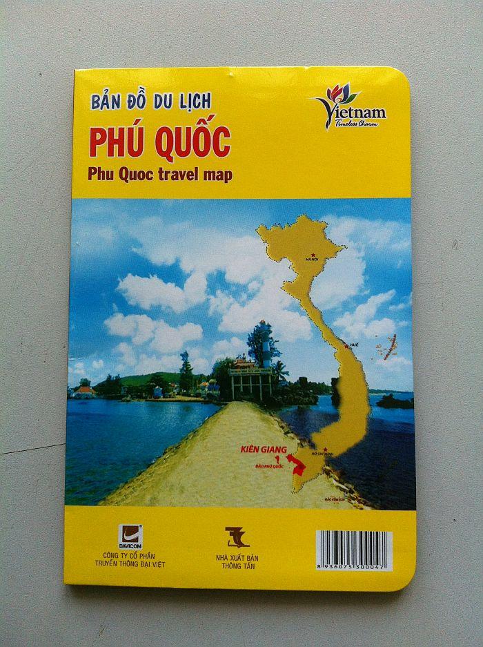 Thiết kế bản đồ du lịch Phú Quốc