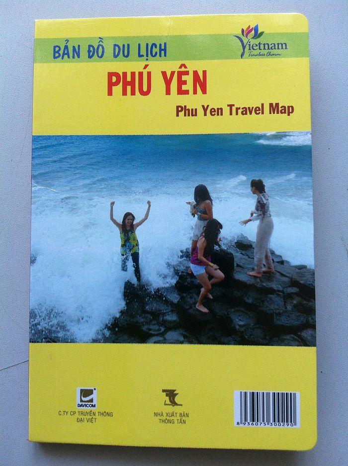 Thiết kế bản đồ du lịch Phú Yên