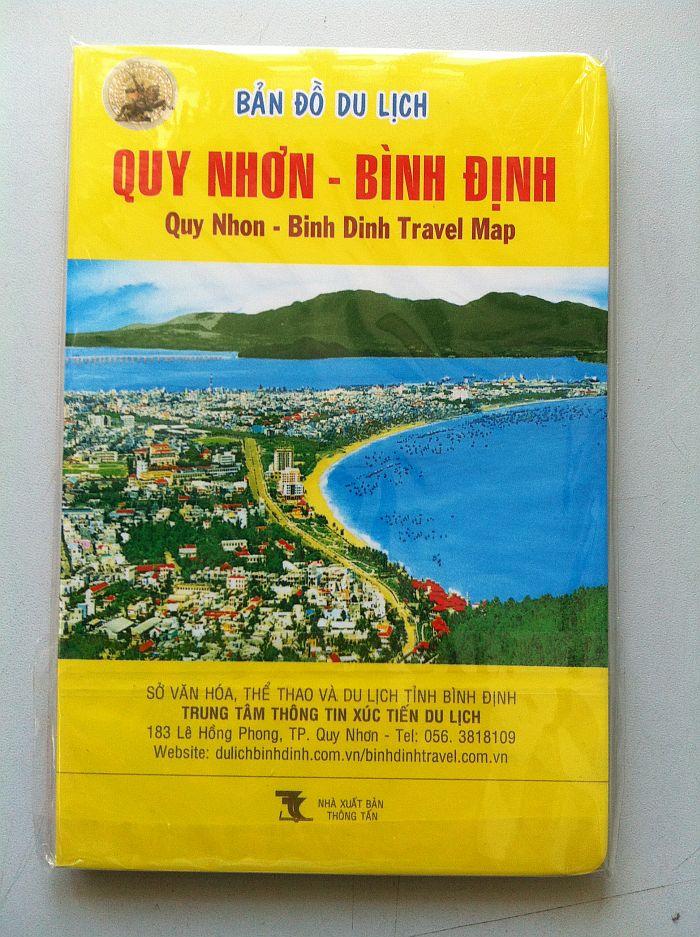 Thiết kế bản đồ du lịch Quy Nhơn - Bình Định