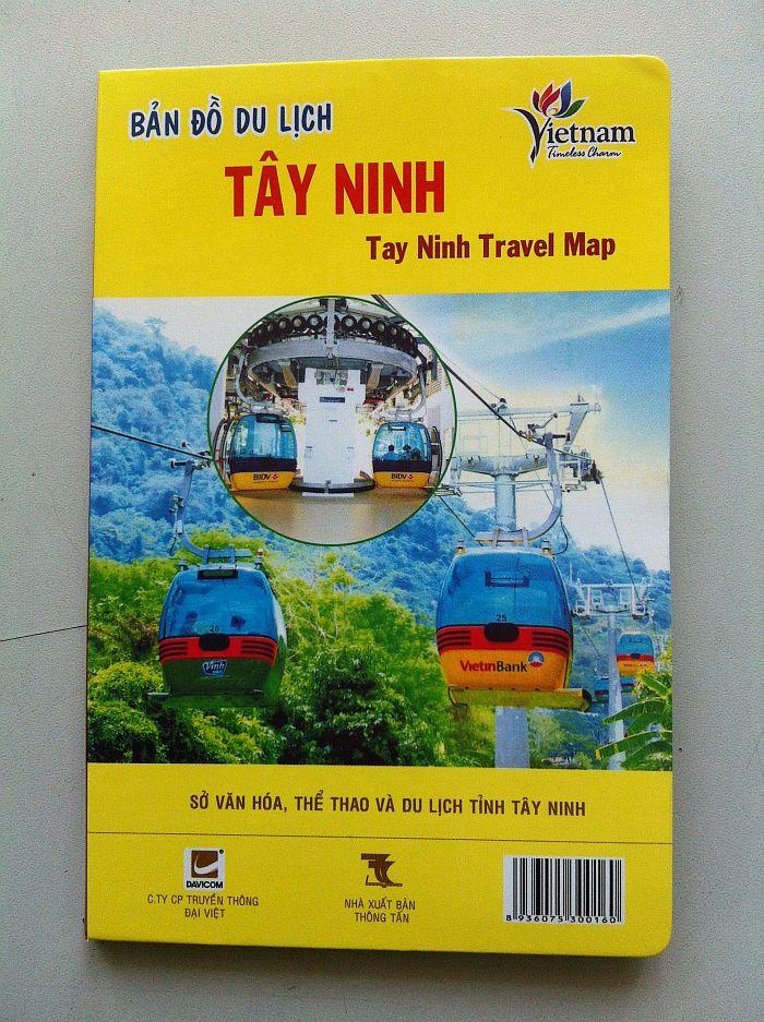 Thiết kế bản đồ du lịch Tây Ninh