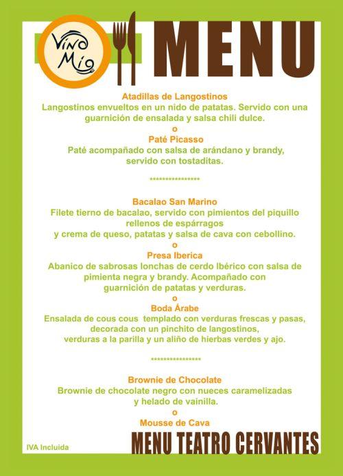 In menu nhà hàng cafe