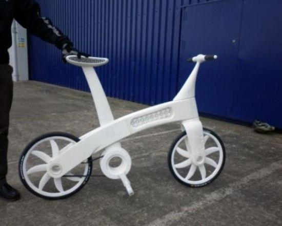 Xe đạp từ túi nilon