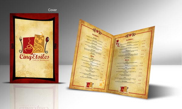 In menu vơi công nghệ Offset