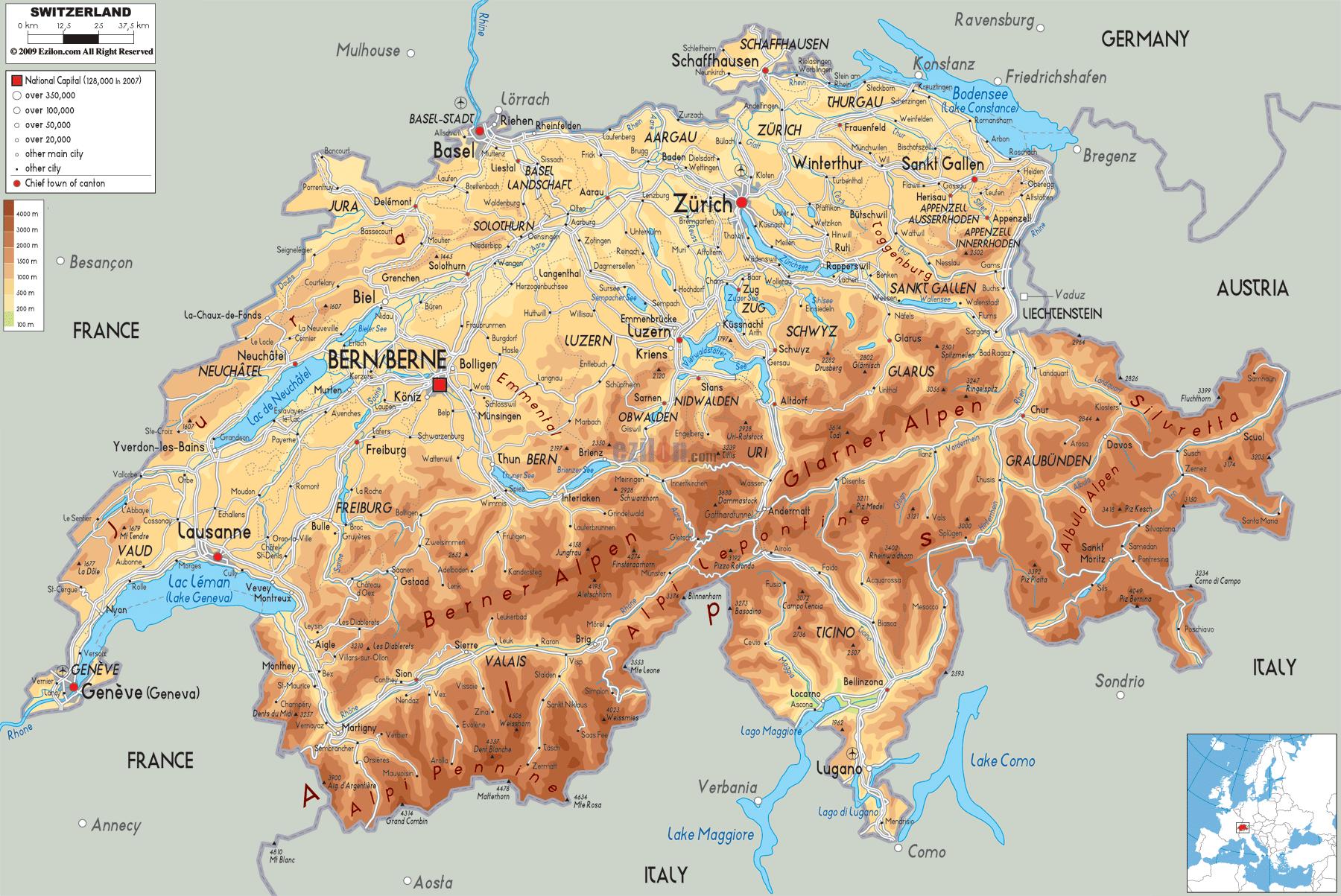 Thiết kế bản đồ địa hình 1