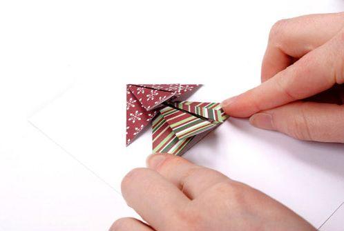 Cây thông từ giấy