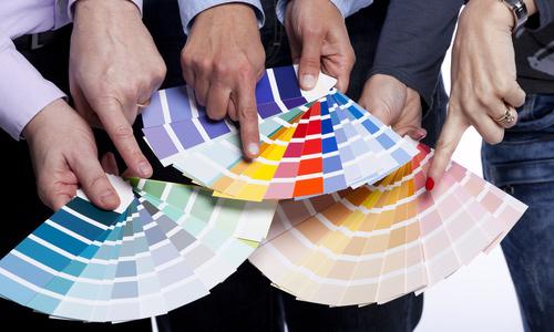 Chọn màu trong thiết kế và in ấn