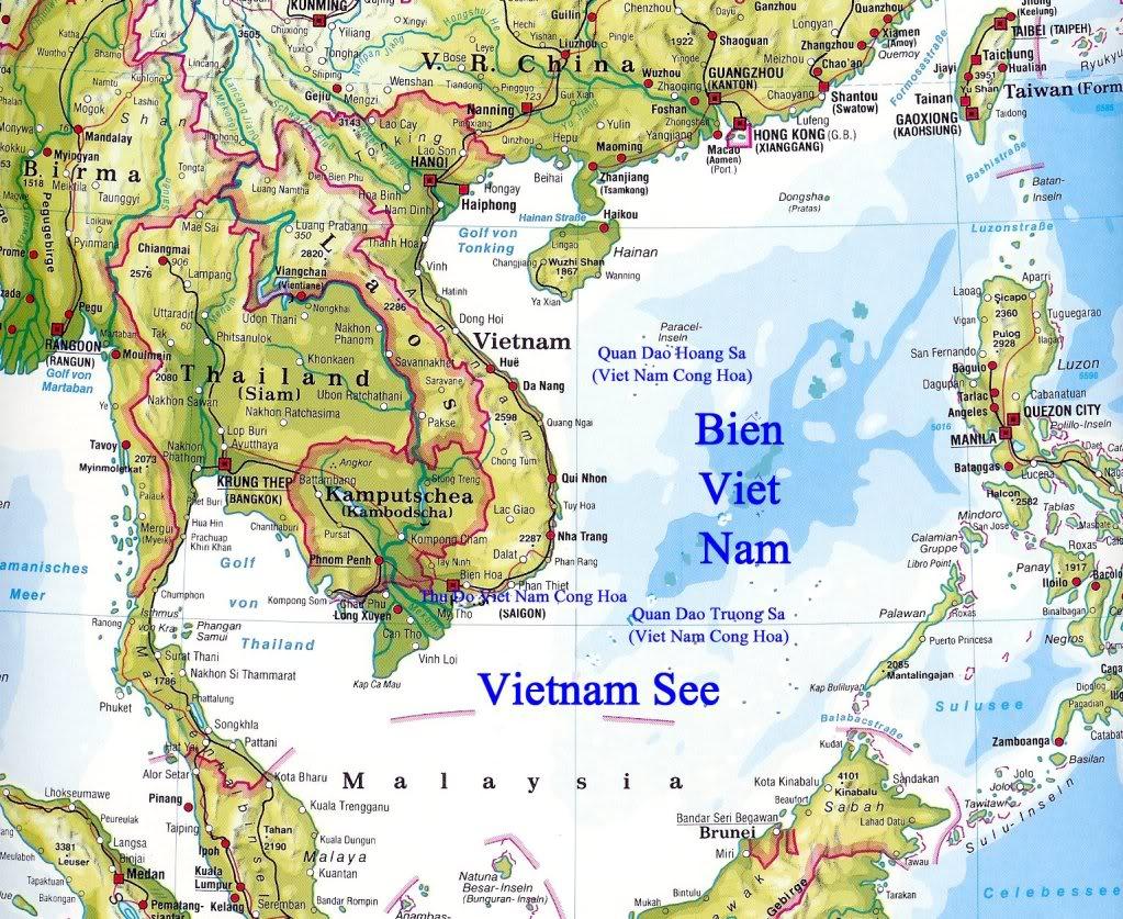 Thiết kế bản đồ biển