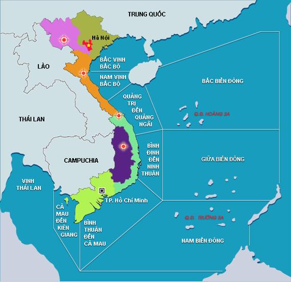 Thiết kế bản đồ biển 1